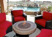 Gas Fire Pit Table Sets - patio table set with fire pit archives formabuona com