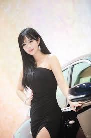 black hair show 2015 choi byul ha seoul motor show 2015 infiniti asian race