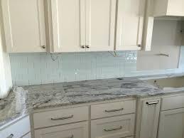 backsplash kitchen glass tile interior examples of tiles for