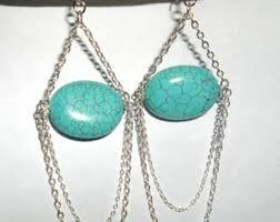turquoise chandelier turquoise chandelier etsy