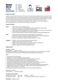 Retail Sales Assistant Resume Sample Sales Assistant Resume Sample Free What Is Modern Essay