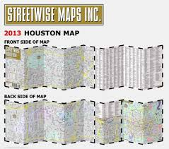 Barnes Noble Houston Texas Streetwise Houston Map Laminated City Center Street Map Of