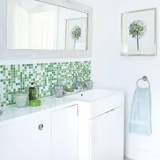 white bathroom tile ideas white bathroom tile ideas modern with angular basin and green