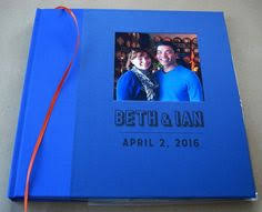 personalized scrapbook cover personalized scrapbook baby book album wedding photo booth