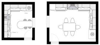 amenagement cuisine rectangulaire plan de cuisine gratuit logiciel archifacile â aménagement