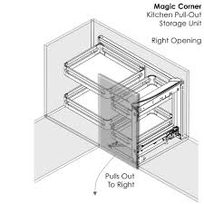magic corner kitchen cabinet pull out kitchen shelves pull out