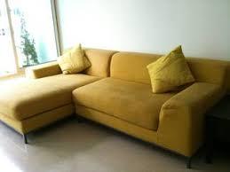 Fabric Sofa Singapore Ikea 3 5 Seater L Shaped Fabric Sofa Mustard Yellow U2022 Singapore