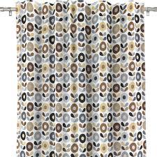 kinnamark cirkelblomma chocolate scandinavian fabric hus u0026 hem