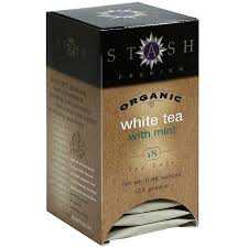 stash organic mint white tea 18ct pack of 6 walmart