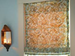 low sew roman shade hgtv
