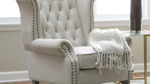direction small upholstered accent chairs tags leather accent