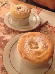 la cuisine de soufflé à la rhubarbe soufflé pommes calvados picture of la