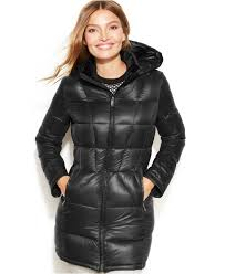 calvin klein petite packable quilted down puffer jacket coats