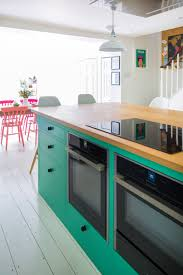 sustainable kitchens i love an all white kitchen as much as the next person but the pops of color in this fabulous uk kitchen by sustainable kitchens give it so much