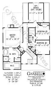 piedmont house plan 01158 craftsman house plans
