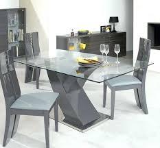 table cuisine verre trempé table a manger verre blanc table verre salle a manger table