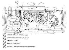 1994 ford f150 parts catalog heater hose diagram ford bronco forum