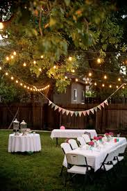 outdoor party decorations backyard birthday pink hydrangeas polka dot napkins