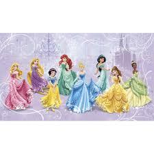 york wallcoverings walt disney kids ii disney princesses royal walt disney kids ii disney princesses royal wall mural