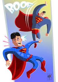 classic superman 52 sups cartoon style artist