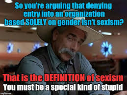 Stupid Boy Meme - keeping girls out of boy scouts isn t sexism imgflip