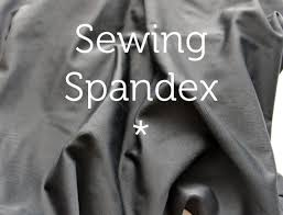 sewing spandex tips