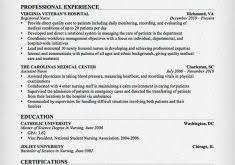 Sample Resume For Registered Nurse by Entracing Sample Registered Nurse Resume Shining Resume Cv Cover