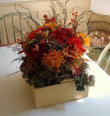 Small Wooden Boxes For Centerpieces by Decoration Ideas Classy Silk Flower Centerpiece Decoration In The