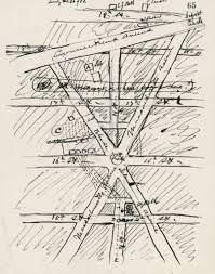 Washington Dc On Map Alexander Graham Bell U0027s Hand Drawn Map Of Scott Circle Ghosts Of Dc