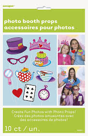 amazon com mad hatter tea party photo booth props 10pc plates