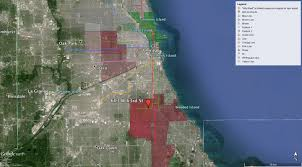 Google Map Chicago by Using Open Data With Google Earth To Visualize Your World Inkpunks
