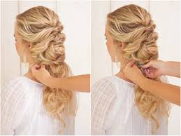 hairstyles for a country wedding wedding hairstyle collage