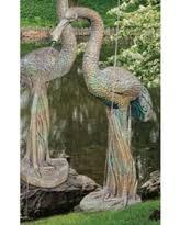 amazing deals on outdoor crane statues