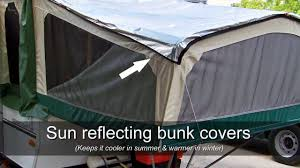 Trail Pop Up Awning Inexpensive Pop Up Camper Modifications You Can Make Youtube