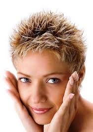 2 amazing elements in short spiky hairstyles for women brown