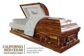 wooden caskets california cedar solid wood casket jpg