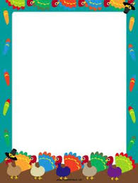 great for thanksgiving this free printable orange border is