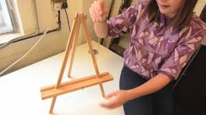 how to make a simple table top easel jackson s academy 22 table easel construction youtube