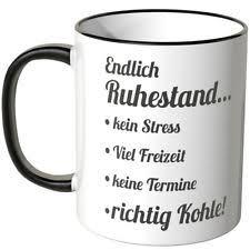 spr che zum ruhestand chef ruhestand kaffeetassen becher aus keramik günstig kaufen ebay
