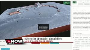 usf researchers give everyone access inside sinkhole with 3d image