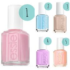 pretty spring nail polish colors essie u2013 sara clark