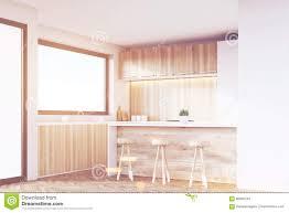 wooden furniture for kitchen kitchen corner light wood toned stock illustration image 86085245