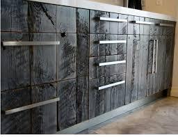 Barnwood Kitchen Cabinets Barn Wood Faux On Kitchen Cabinets By Avant Palette Custom Faux