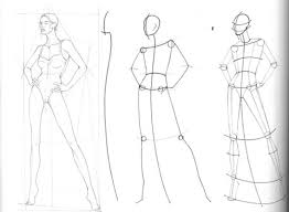 fashion design body sketches for beginners fashion sketches body