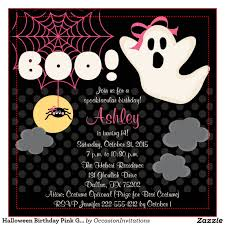 Halloween Birthday Ideas Free Printable Halloween Birthday Party Invitations Dolanpedia