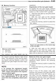 how to prevent trunk opening in garage subaru outback subaru