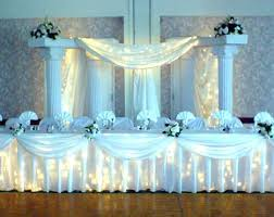 wedding column decoration ideas white wedding decor ideas for