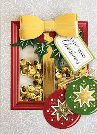 griffin christmas cards hsn october 3 2017 window shaker card dies griffin cards