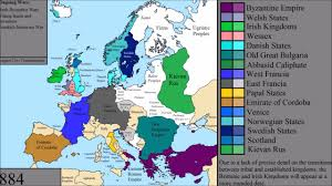 Europe Continent Map by The History Of Europe Every Year Youtube