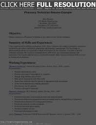 Resume Examples For Pharmacy Technician by Technician Resume Examples Free Resume Example And Writing Download
